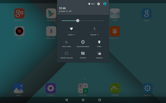 Onda Android switch OS